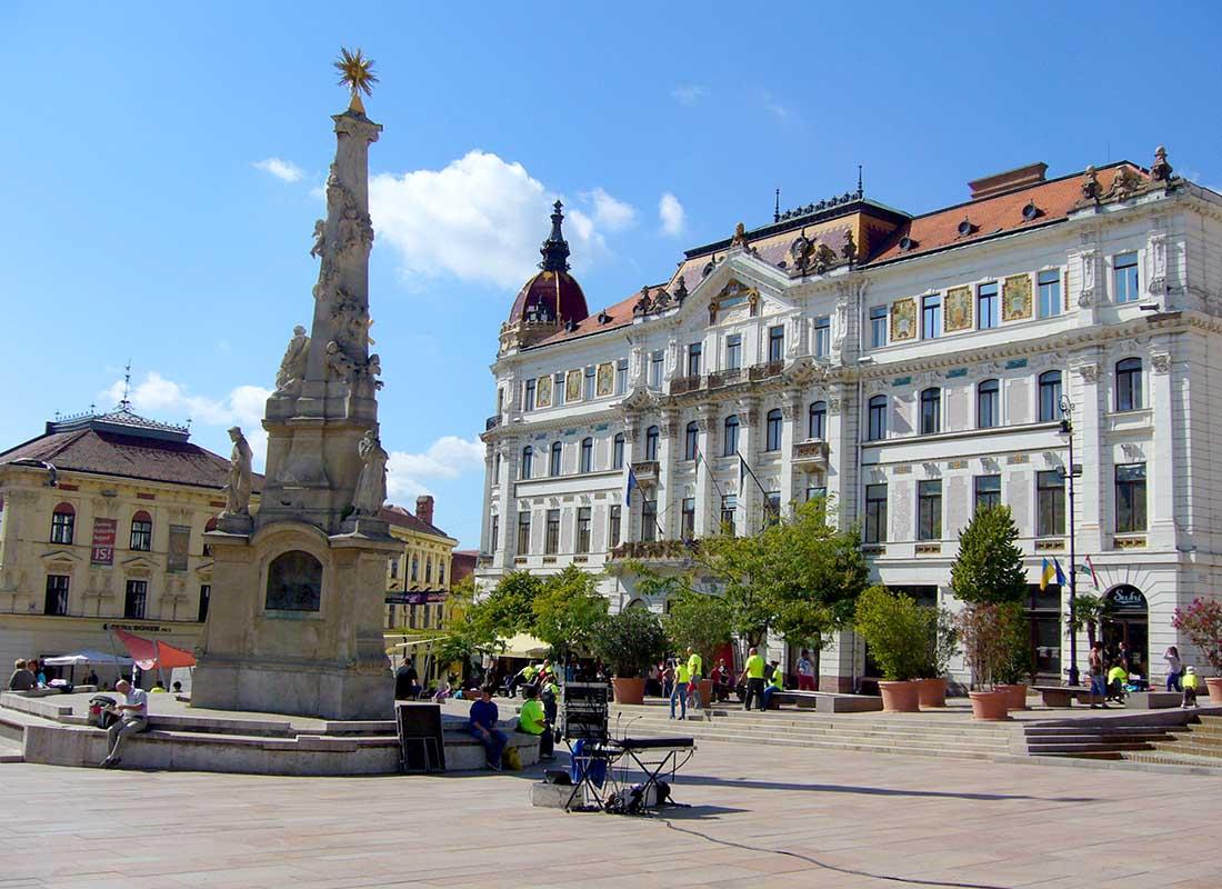 Pécs - Széchenyi tér