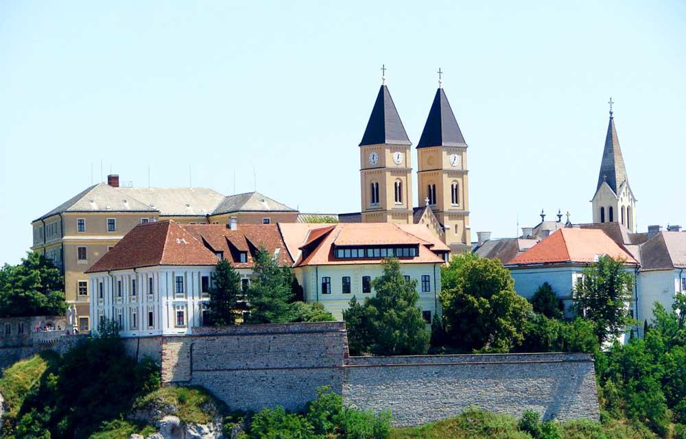 Veszprém belvárosa