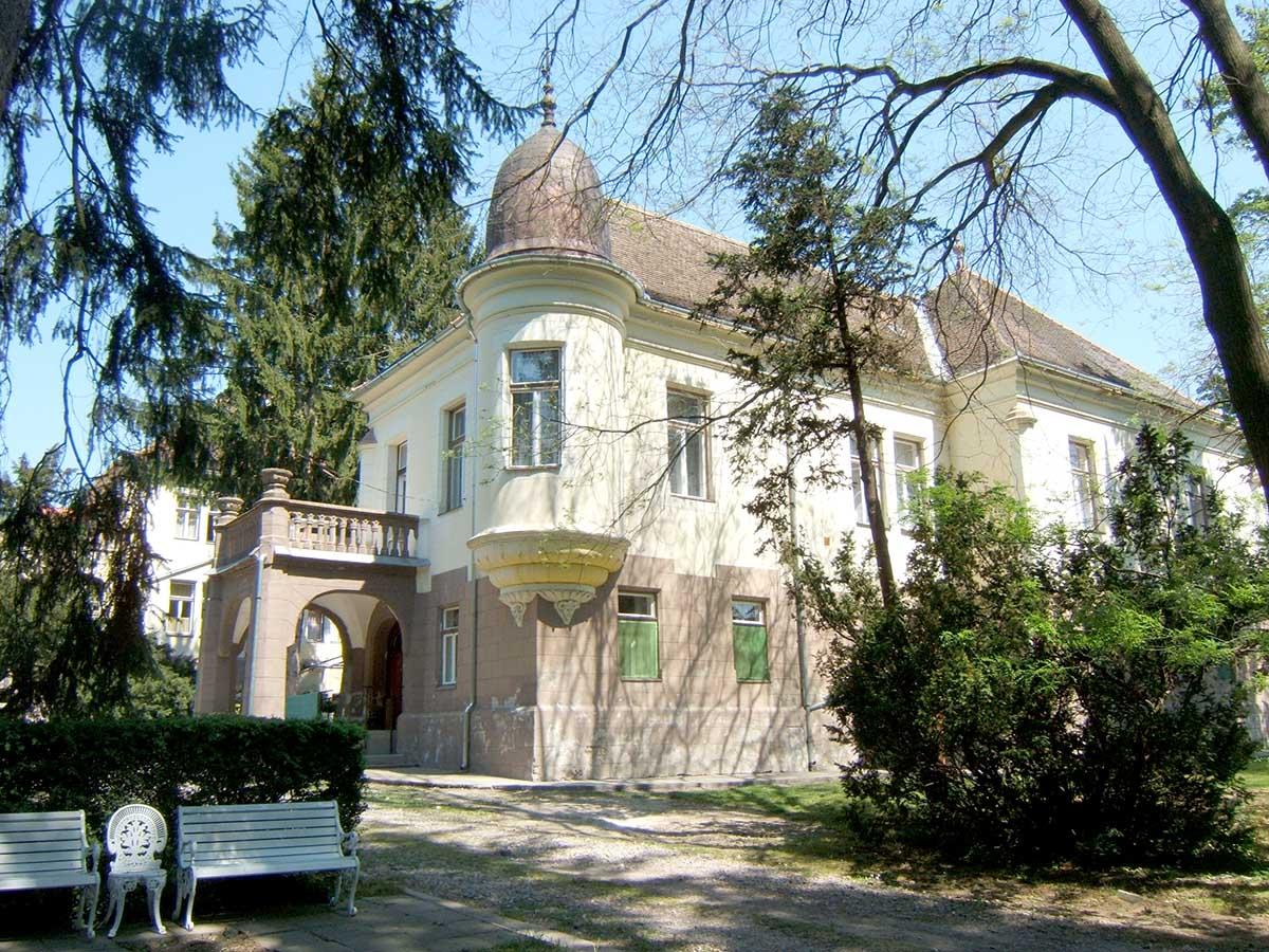 Mozsgó Biedermann kastély
