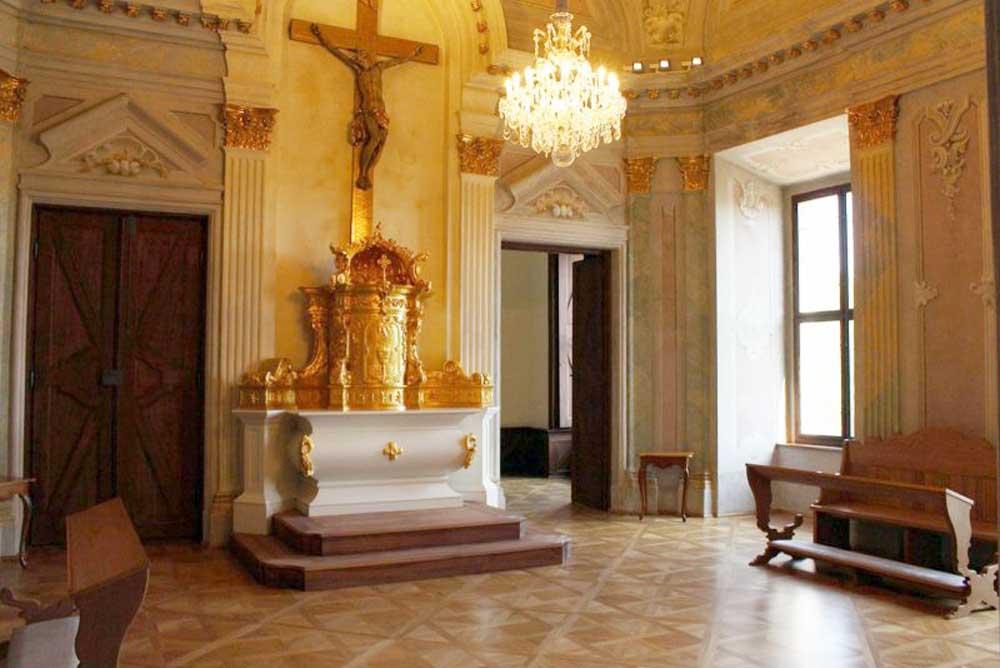 Esterházy kastély - kastélykápolna
