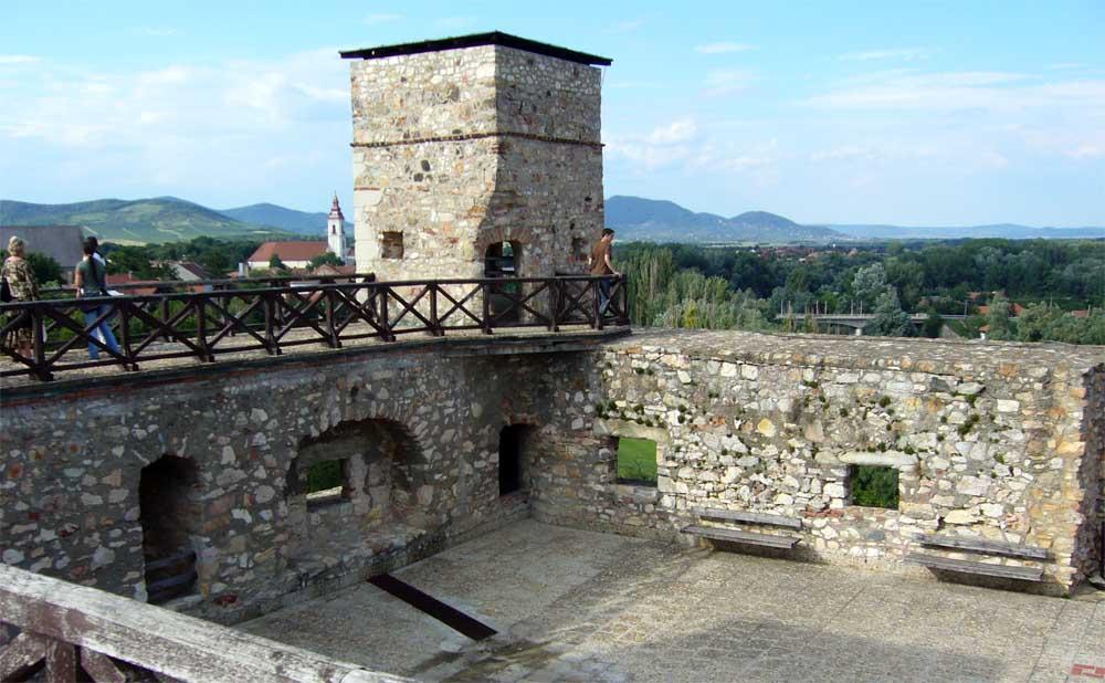 Rákóczi vár - vörös torony