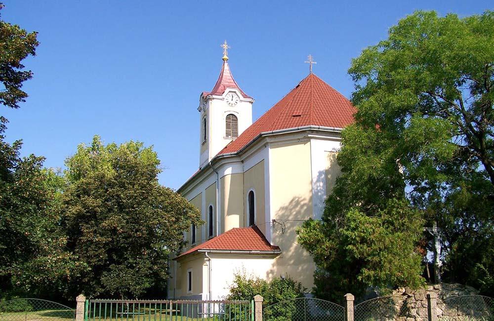 Katolikus templom - Abádszalók