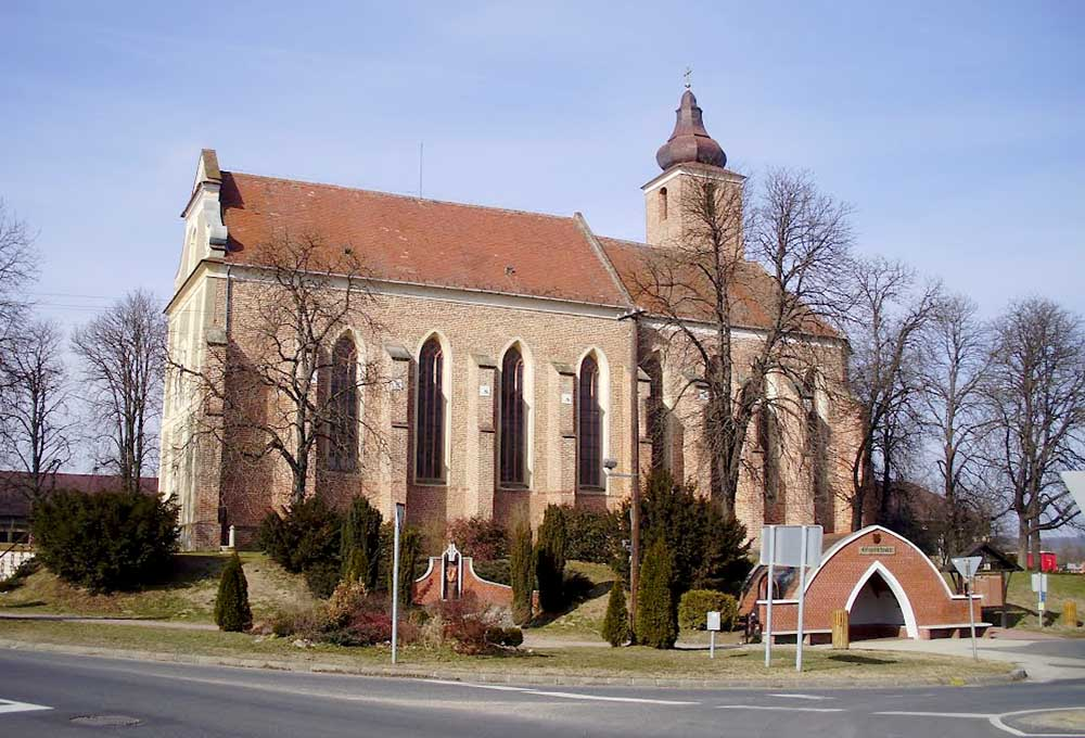 Egervári templom