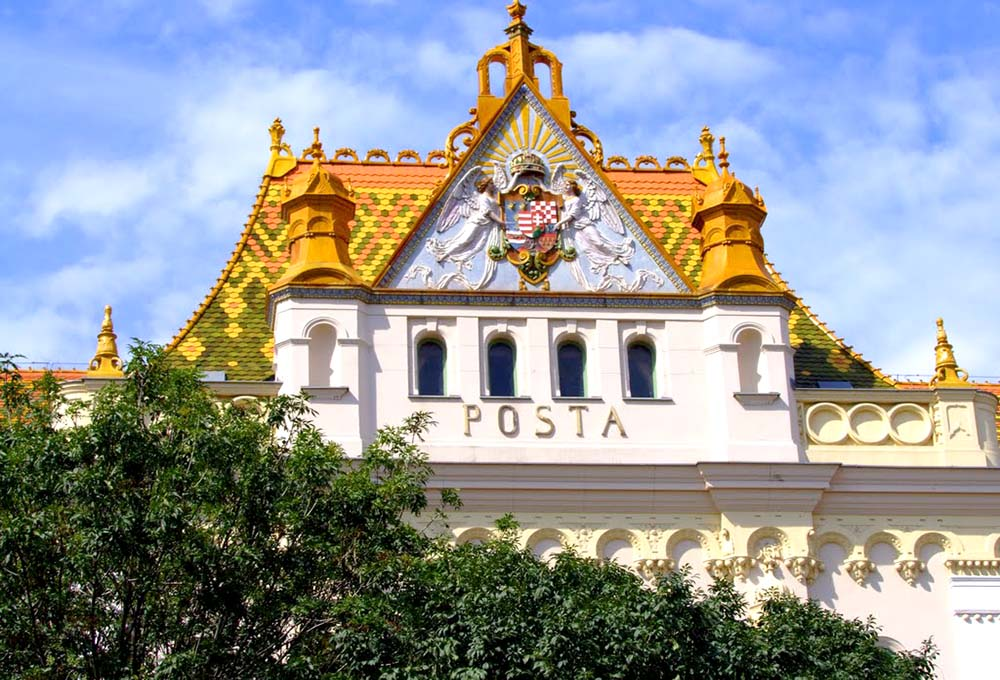 Pécsi postapalota