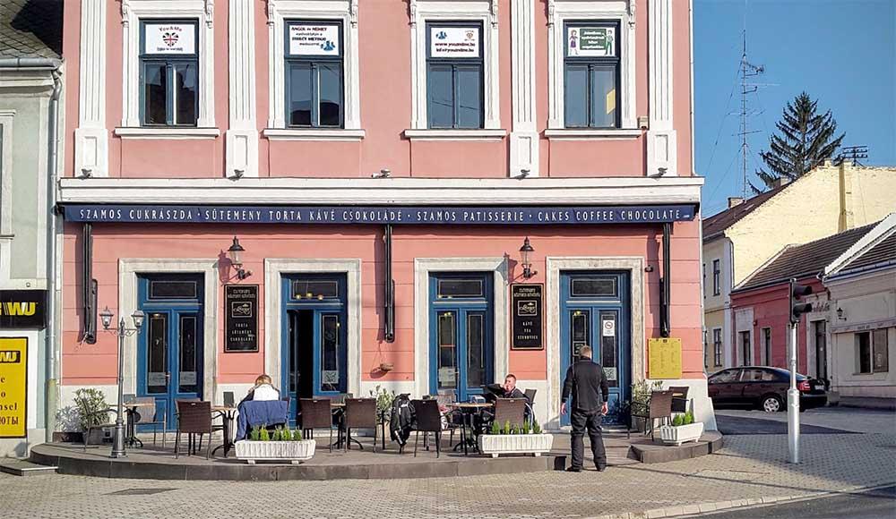Központi kávéház - Esztergom