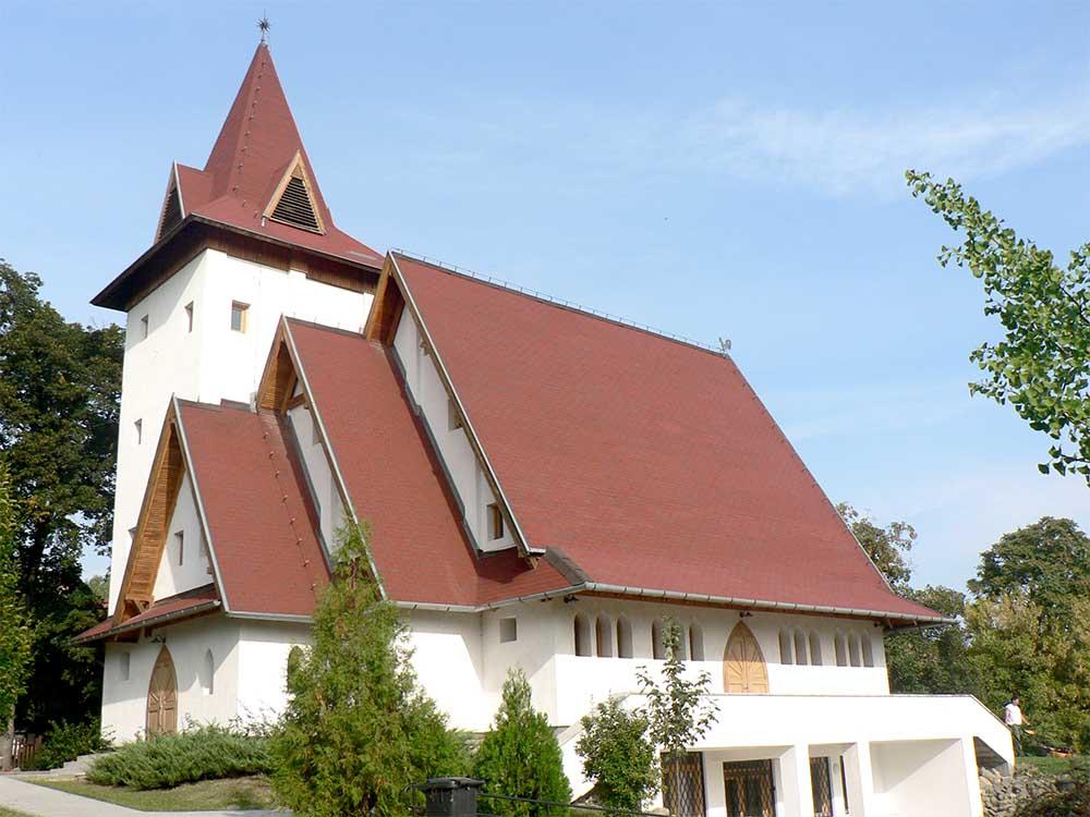 Református templom - Leányfalu