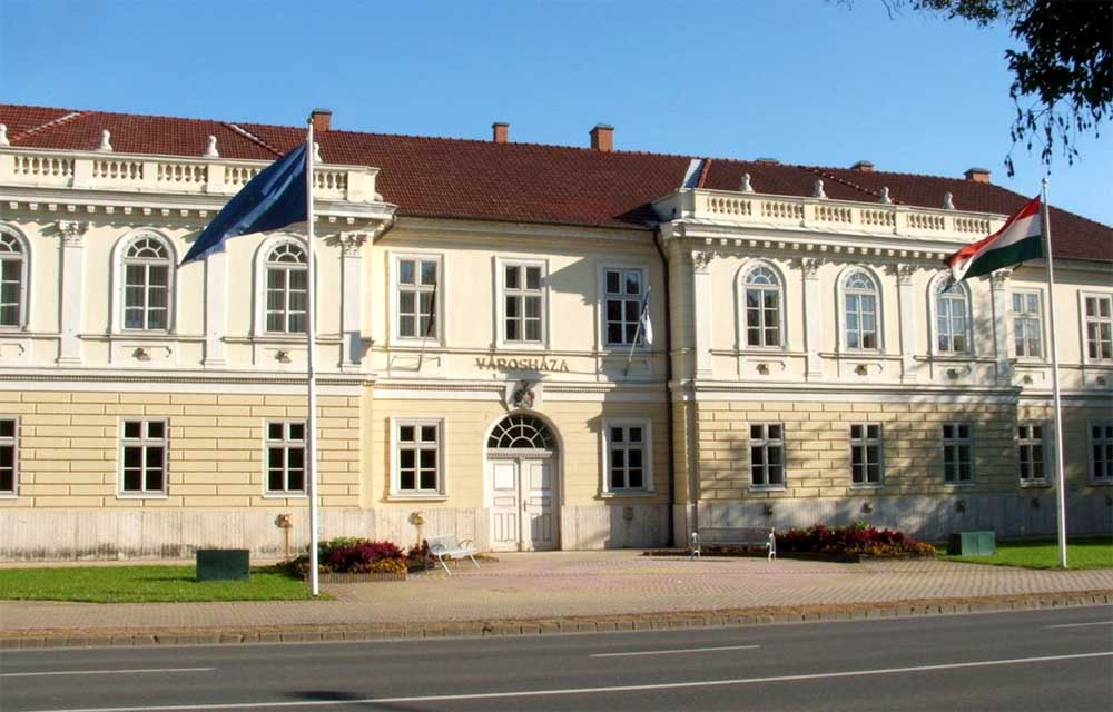 Hajdúszoboszló - városháza
