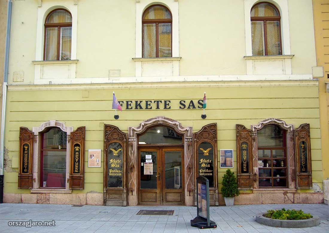 Fekete sas patikamúzeum - Székesfehérvár