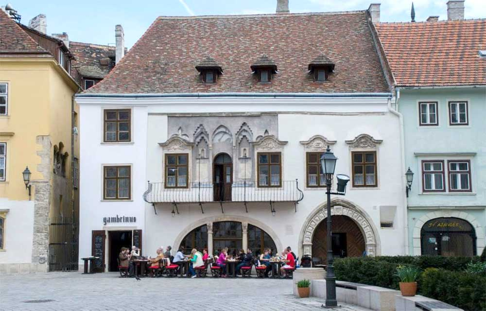 Gambrinus ház - Sopron