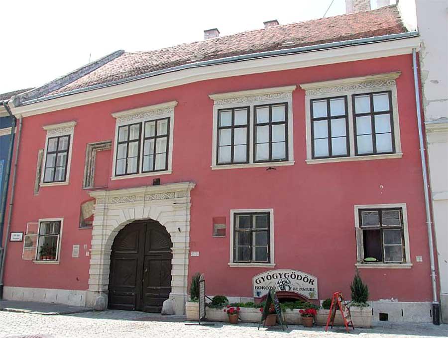 Kossow ház - Sopron