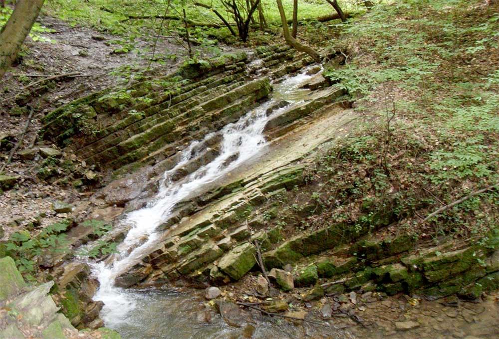 Ferde vízesés - Óbánya