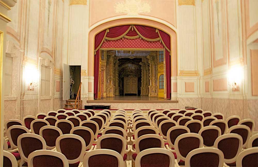 Gödöllői kastély - barokk színház