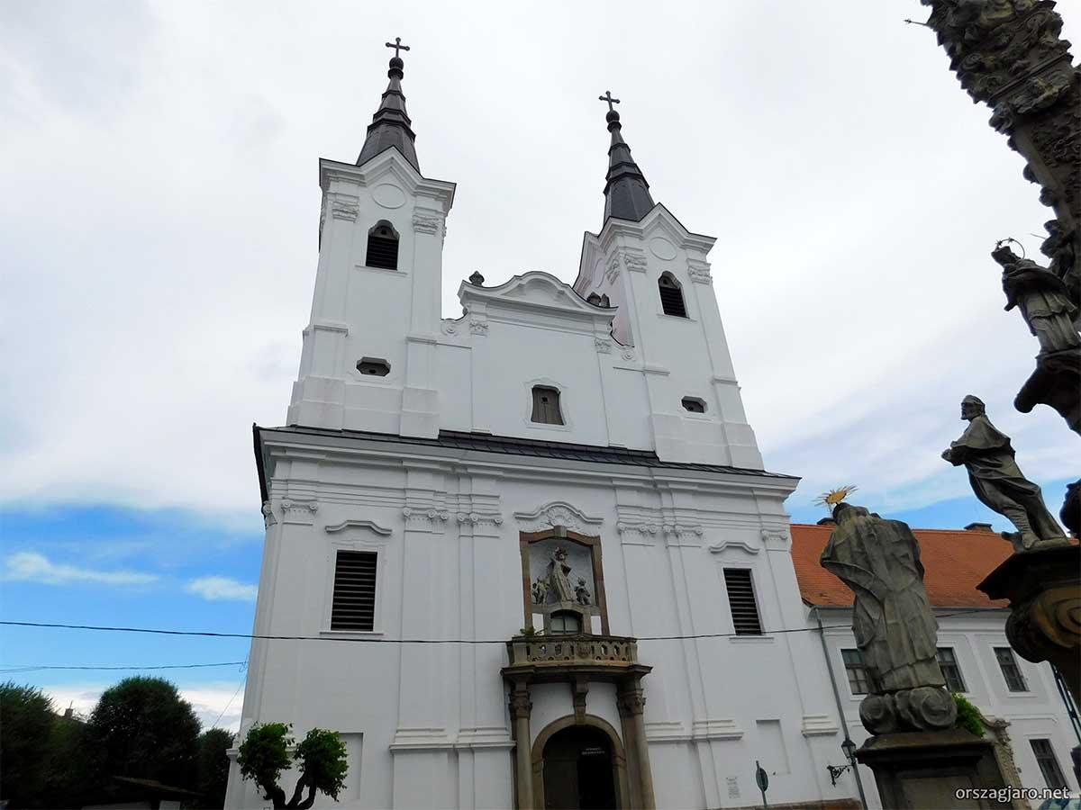 Piarista templom - Vác