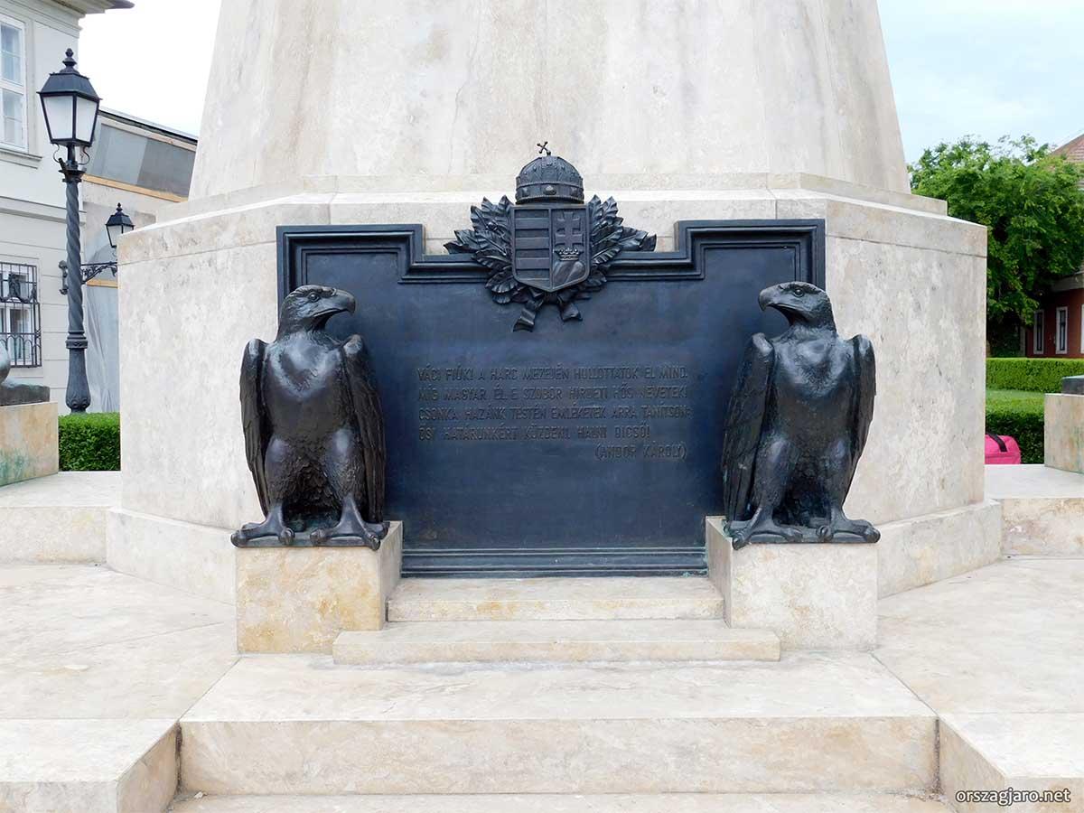 I. Világháborús emlékmű - Vác