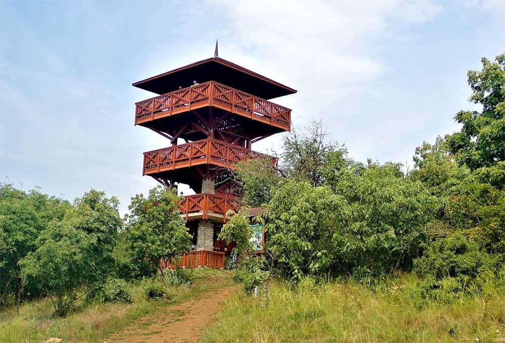 Őrtorony kilátó - Tihanyi-félsziget