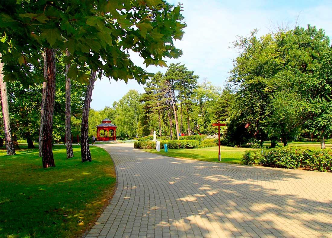 Jókai park - Siófok
