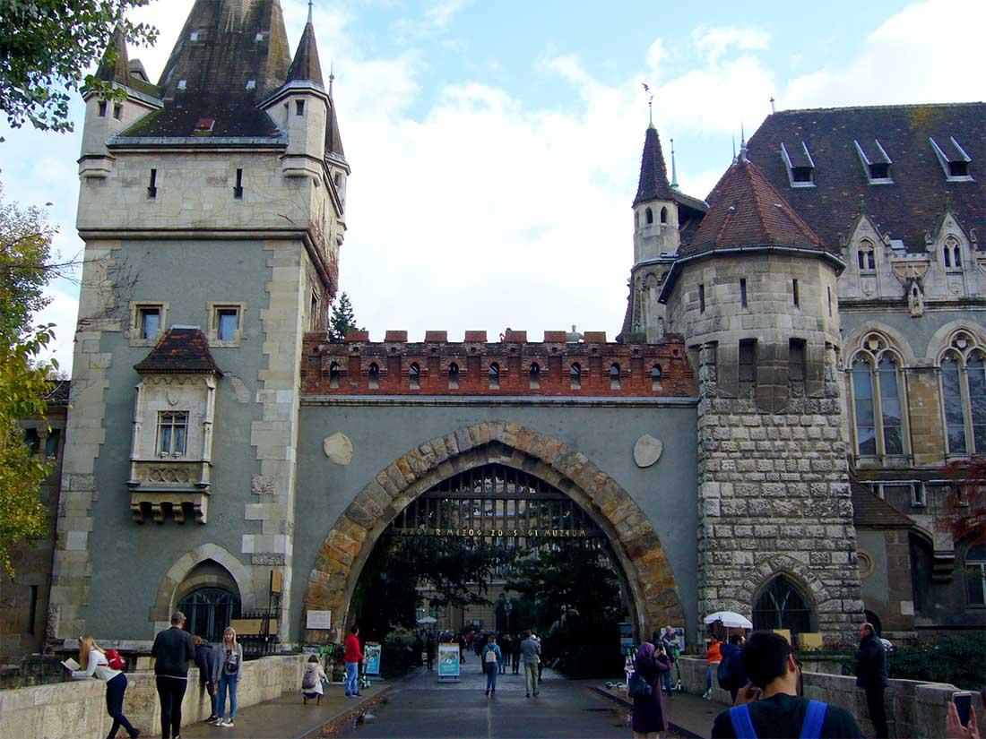 Vajdahunyad vára - Budapest