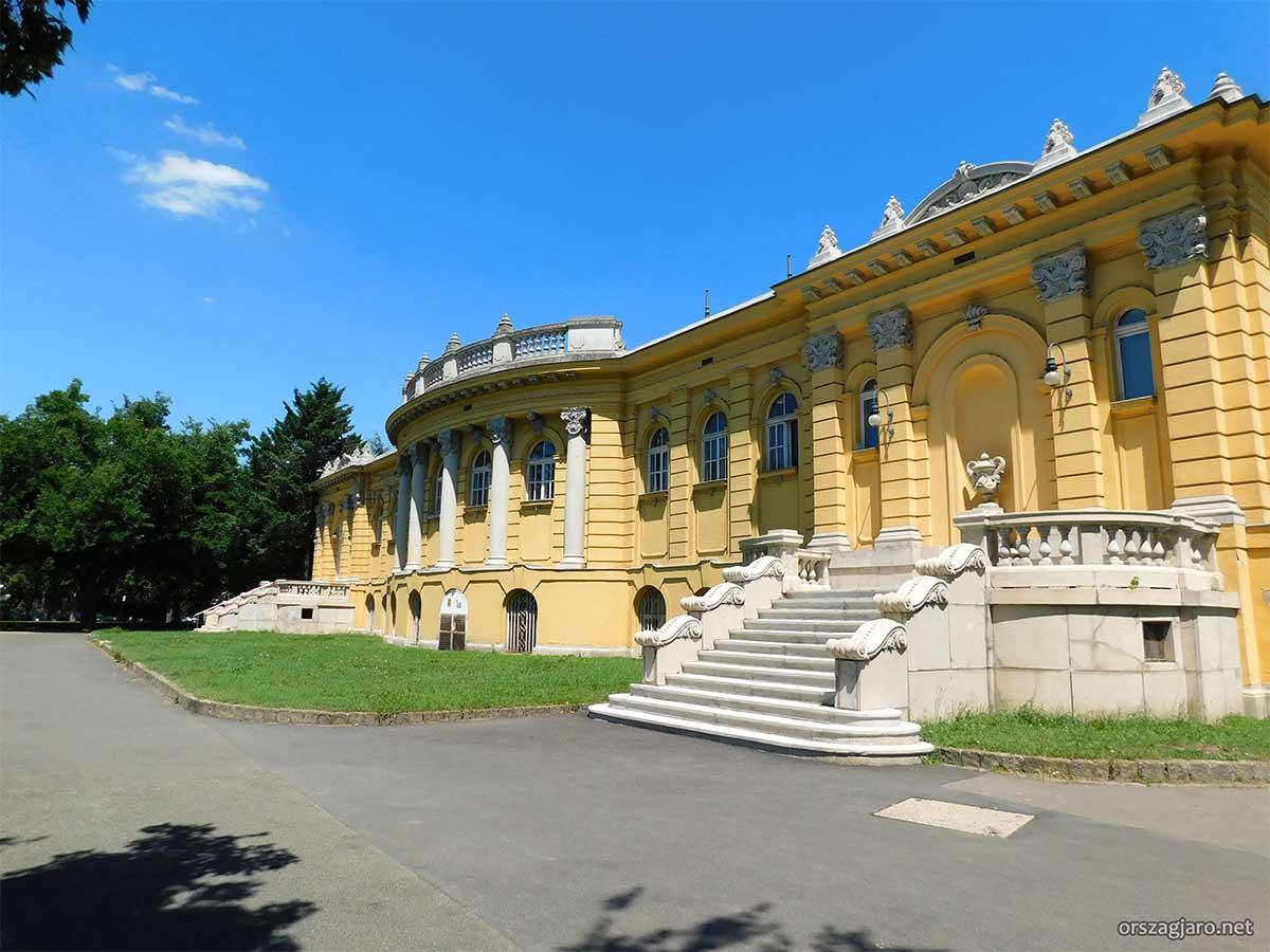 Széchenyi fürdő - Városliget