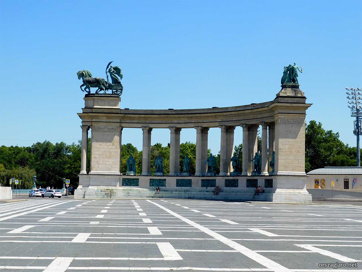Hősök tere - Budapest