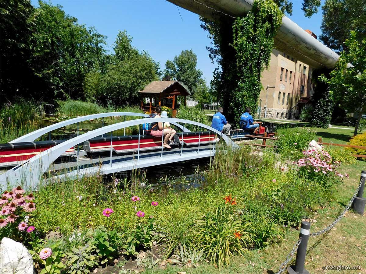 Magyar Vasúttörténeti Park - Kerti vasút