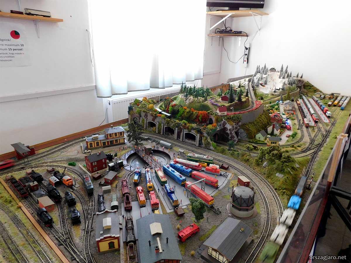 Vasúttörténeti Park - Modellvasút kiállítás