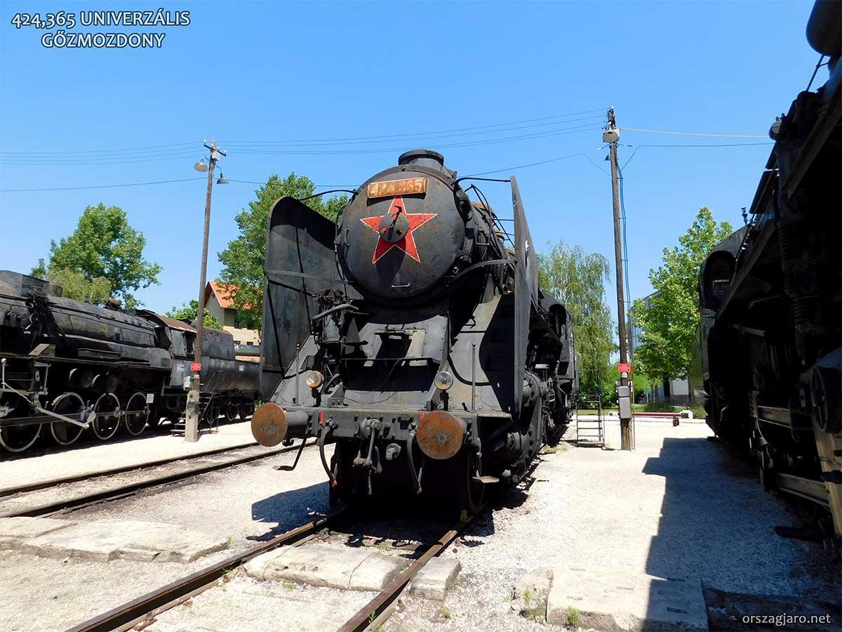 424-es Mozdony - Vasúttörténeti Park