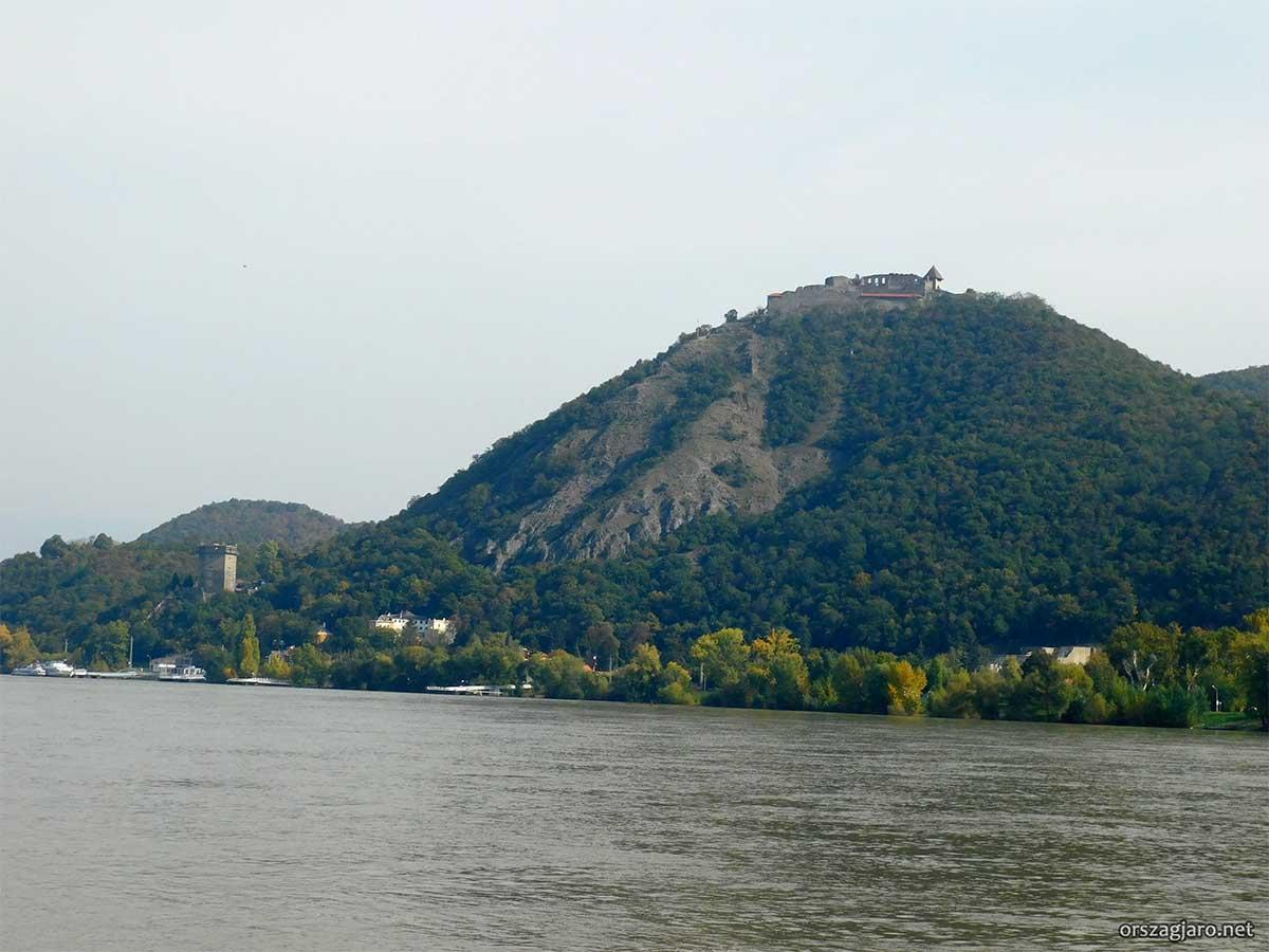Kilátás Visegrádra - Nagymaros