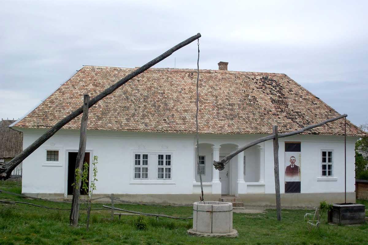 Szentendrei skanzen - Nemesradnóti lakóház